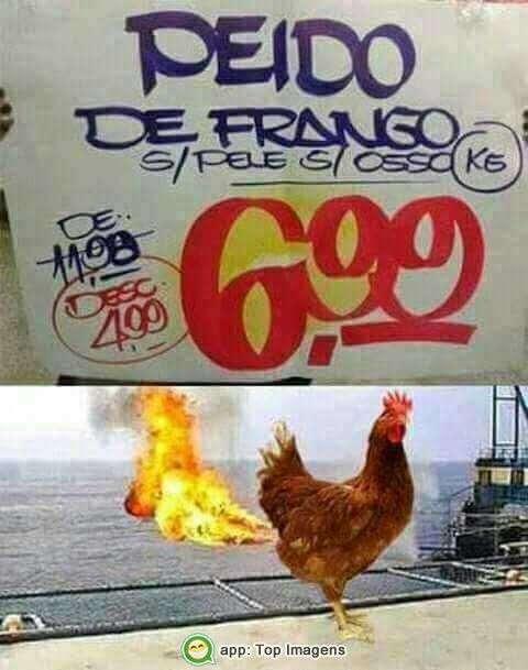 Peido de frango