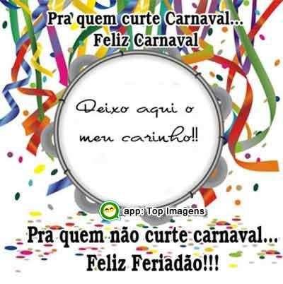 Pra quem curte ou não carnaval