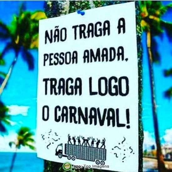 Traga o carnaval