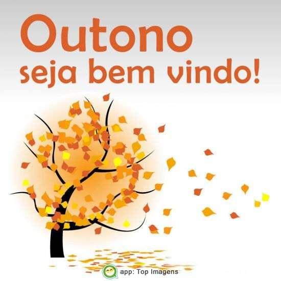 Outono seja bem-vindo