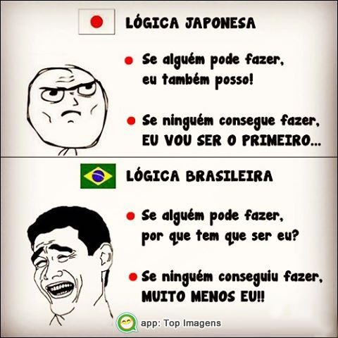 Lógica japonesa e brasileira