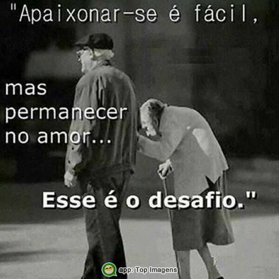 Permanecer no amor