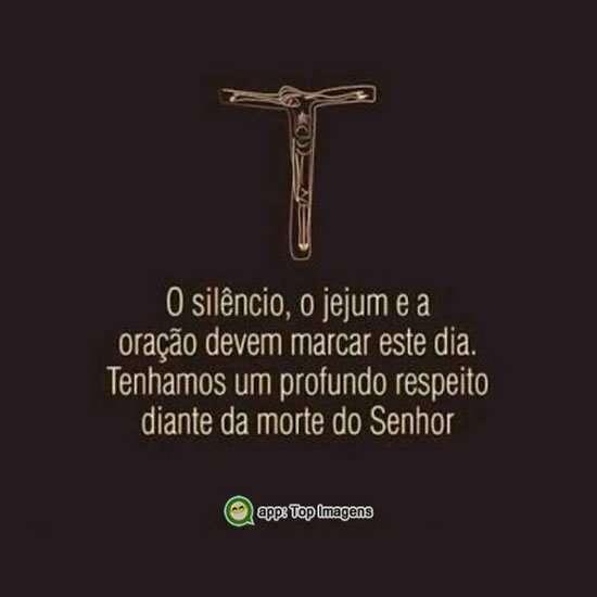 Silêncio, jejum e oração