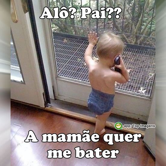 Mamãe quer me bater