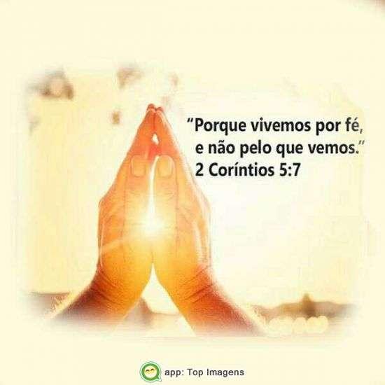 Vivemos por fé