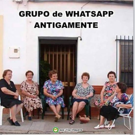 Grupo de whatsapp de antigamente