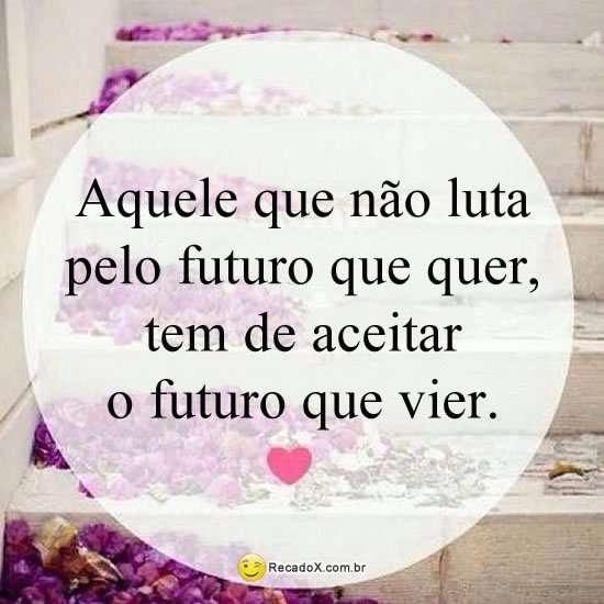 Lutar pelo futuro