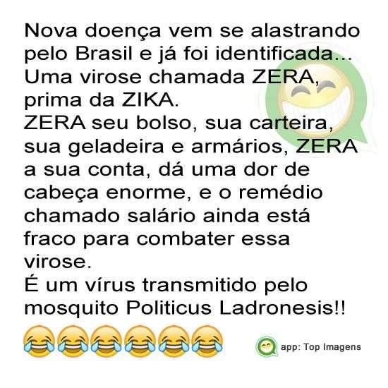 Novo vírus ZERA