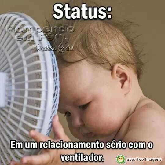 Relacionamento com o ventilador