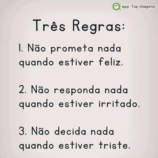 Três regras