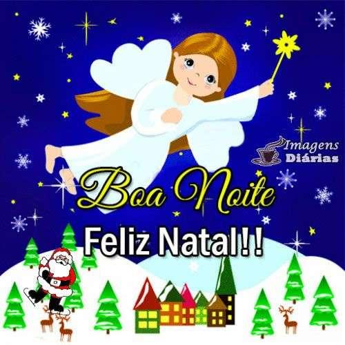 Boa noite e Feliz Natal