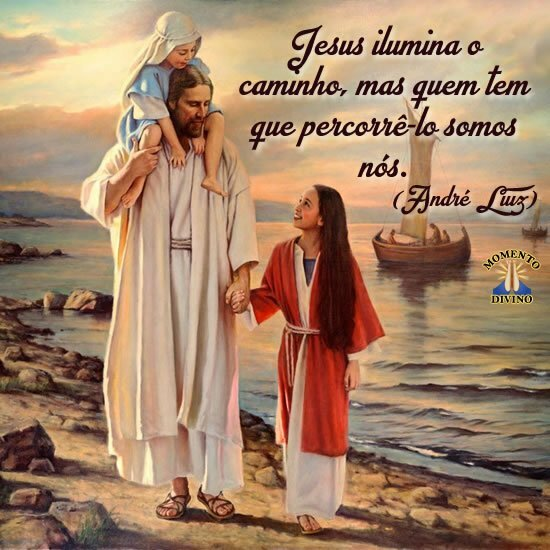 Jesus ilumina o caminho