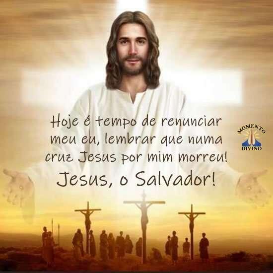 Jesus, o Salvador!