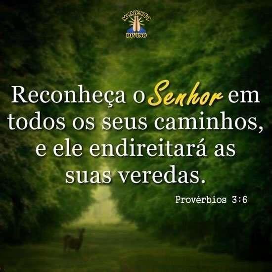 Reconheça o Senhor