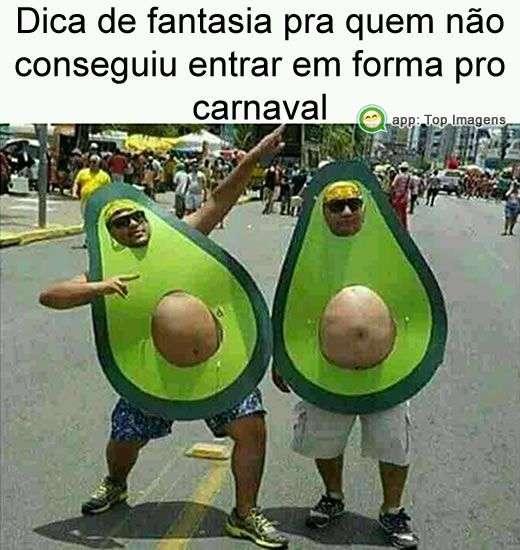 Fantasia para  carnaval