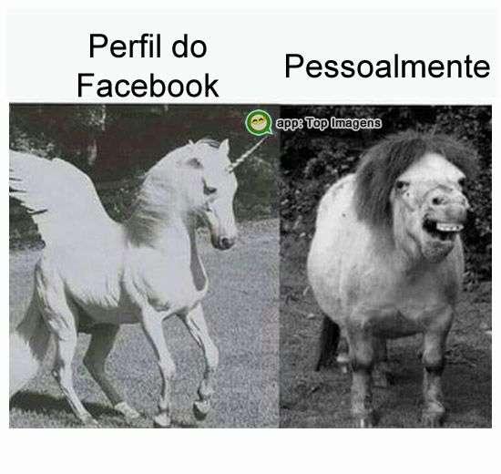 No facebook e pessoalmente