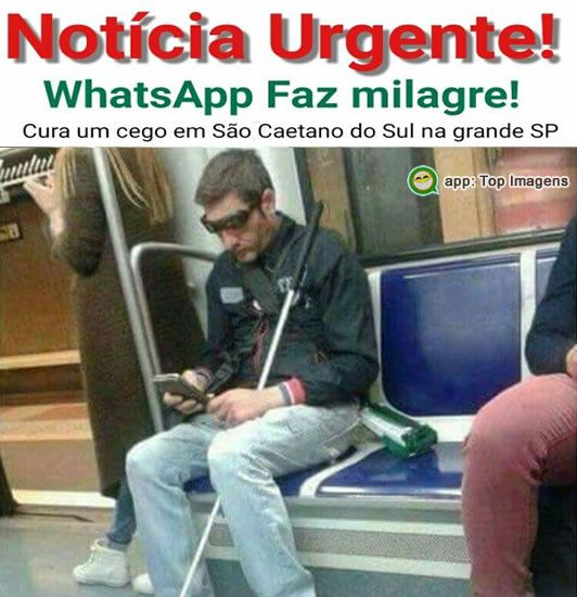 Whatsapp faz milagre