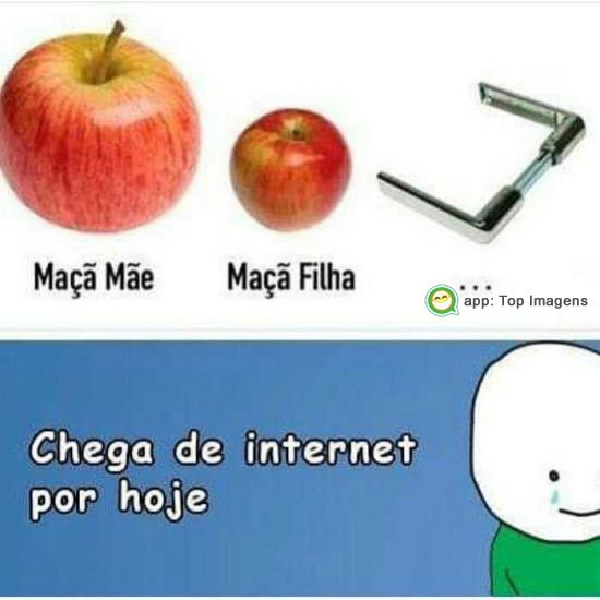 Chega de internet