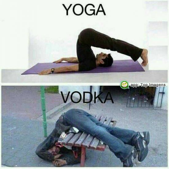 Yoga e Vodka