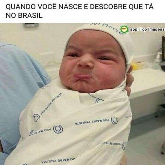 Quando nasce no Brasil