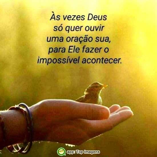 Só uma oração