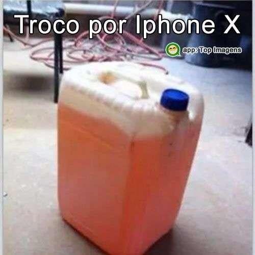 Troco gasolina por Iphone