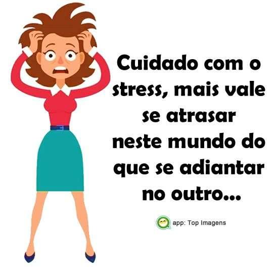 Cuidado com o stress