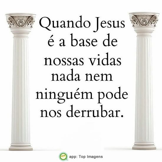 Jesus é a base