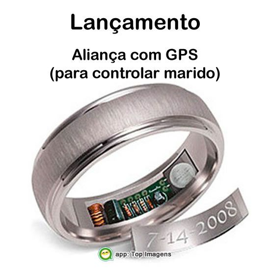 Aliança com GPS