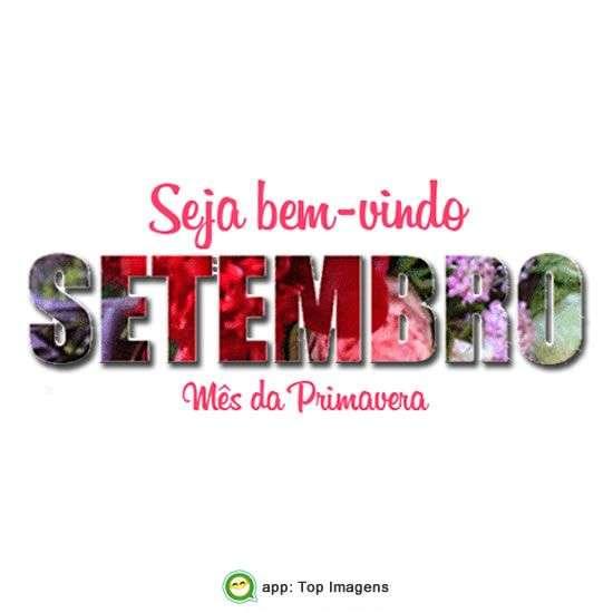 Bem-vindo Setembro