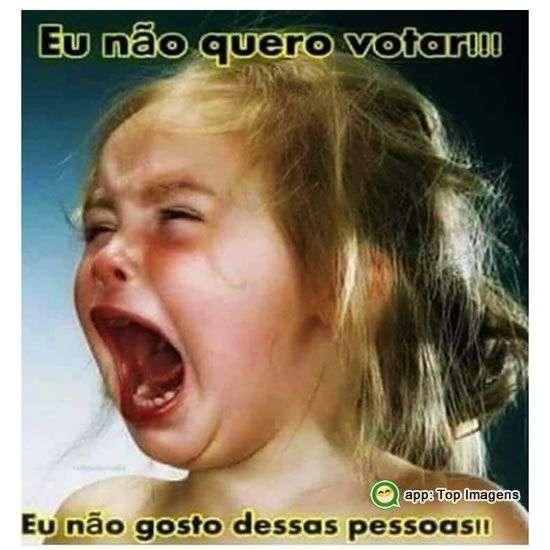 Eu não quero votar