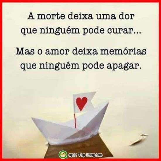 O amor deixa memórias
