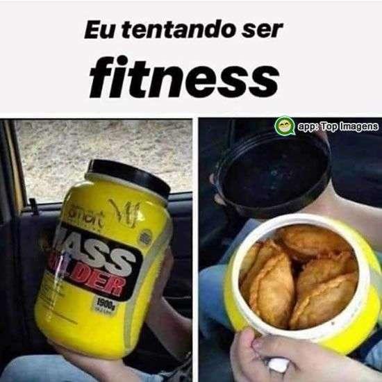 Tentando ser fitness