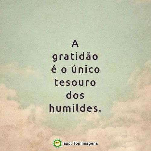Tesouro dos humildes