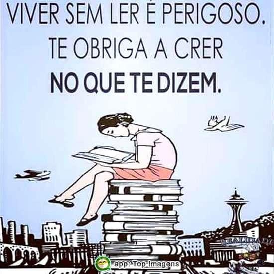 Viver sem ler