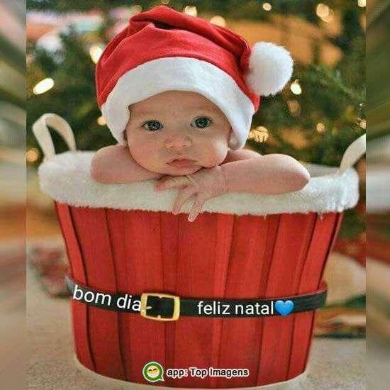 Bom dia e Feliz Natal