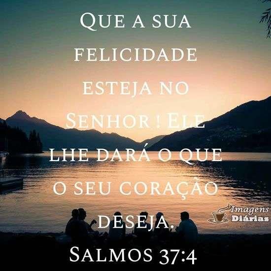 Felicidade do Senhor