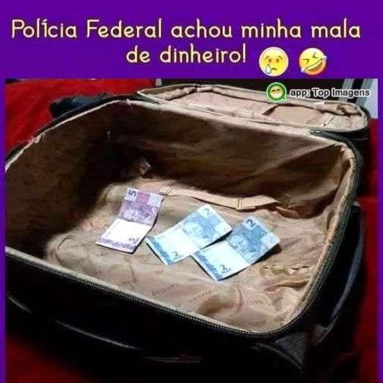 Minha mala de dinheiro