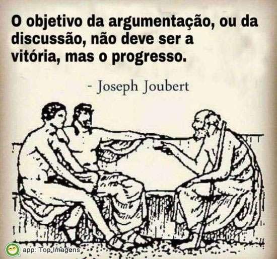 Objetivo da argumentação