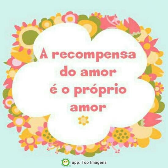 Recompensa do amor