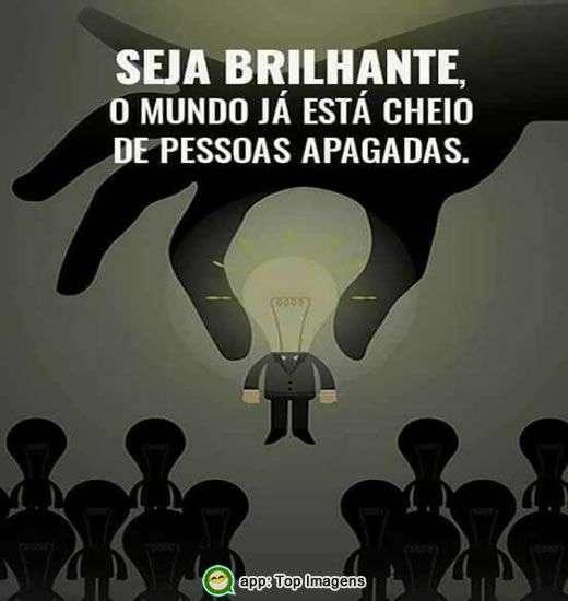 Seja brilhante