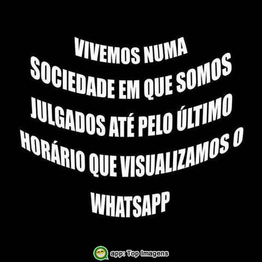 Visualização do whatsapp