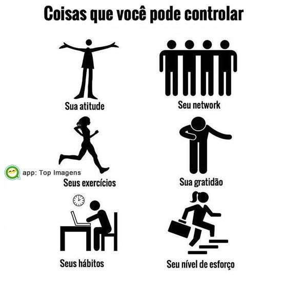 Você pode controlar
