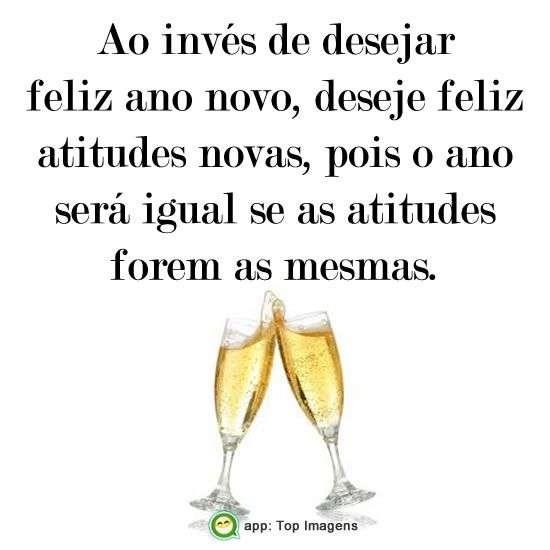 Desejar feliz ano novo