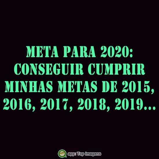 Meta para o ano