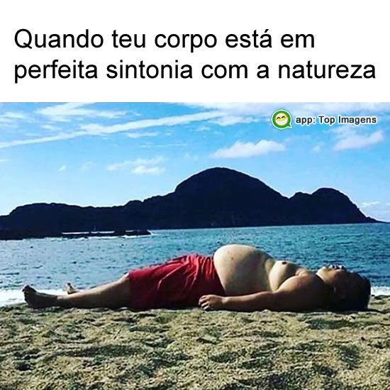 Sintonia com a natureza