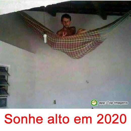 Sonhe alto em 2019