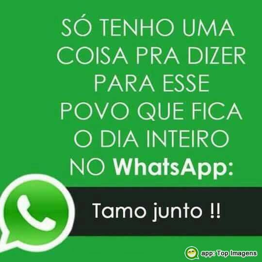 Dia inteiro no Whatsapp