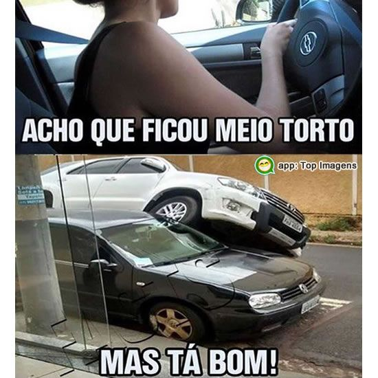 Estacionando o carro