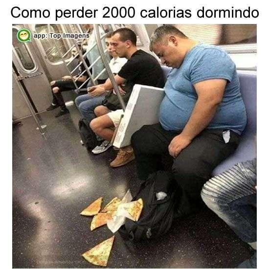 Perder calorias dormindo